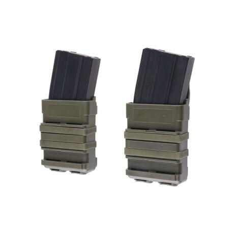 FAST MAG 5,56 tártok M4/M16 OD