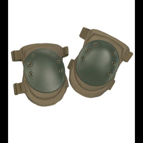 Airsoft katonai térdvédő OD zöld